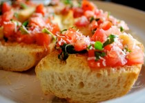 The Ultimate Garlic Bruschetta