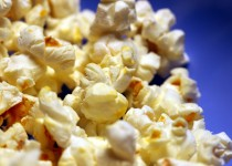 Best Popcorn w/ White Cheddar & Chive Garlic Potato Seasoning w/Bacon