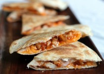 Chicken Quesadilla with Garlic Tapenade & Mashed Potato Seasoning – Olive Tapenade with Garlic