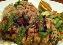 Lemon Garlic & Pesto Chicken