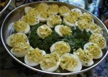 Zesty Devilled Eggs