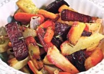 Roasted Garlic Root Vegetables With Horseradish Garlic Jelly – Roasted Garlic & Sea Salt
