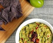 Roasted Garlic & Bacon Guacamole