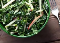 Kale with Apple Cider & Garlic Vinaigrette