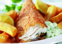 Benmiller Inn and Spa Signature Fish & Chips