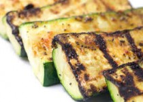 Grilled Zucchini with Garlicky Italian Seasoning