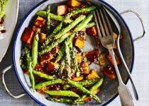 Oven Roasted Red Potatoes & Asparagus