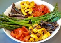 Garlic Balsamic Grilled Vegetables