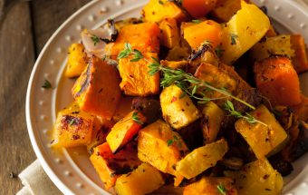 Homemade Roasted Root Vegetables with Squash and Pumpkin