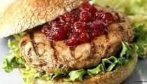 Cranberry Turkey Burger Recipe