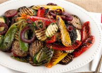 Grilled Balsamic Vegetables