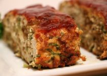 Apple Turkey & Garlic Meatloaf