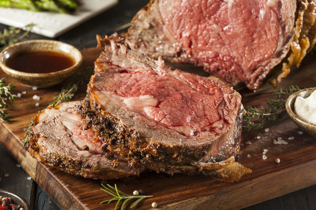 Roast Beef with Mustard and Horseradish Crust Recipe picture