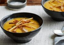 Sweet Potato Soup with Epic Matchstick Fries
