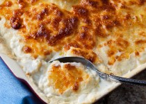 Turnip and Rutabaga Gratin w/ Garlic & Horseradish Potato Seasoning