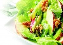 The Great Canadian Salad with Apple Cider & Garlic Vinaigrette
