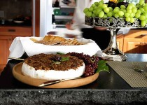 Melted Brie with Tapenade – Olive Tapenade with Garlic