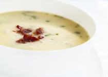 Maple Infused Turnip & Garlic Soup