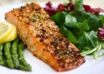 Honey Baked Salmon with Garlic
