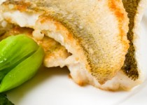 Featured Chef Recipe – Braised Lake Huron Pickerel with Garlic Scapes and Asparagus Salsa