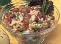 Red Potato Salad with Smokey Garlic White Beans