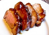 Maple Orange Garlic Sauce Marinated Pork Tenderloin