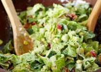 Classic Chopped Salad w/ Garlic & Dill Dressing