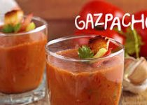 Garlic Clamato Gazpacho Soup