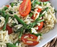 Rice Salad w/ Garlic Veggie Splash