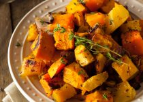 Oven Roasted Squash Medley with Garlic