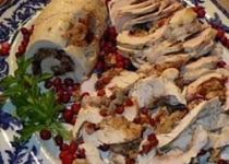 Cranberry Stuffed Turkey Breast