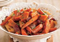 Garlic Balsamic Root Vegetables