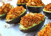 Mexican Chicken Avocado Cups
