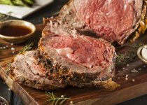 Herb Crusted Horseradish & Garlic Prime Rib Roast