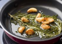 Garlic-Infused Rosemary Oil